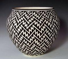 Acoma Pottery, PAT VALENCIA