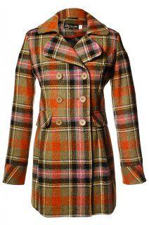Tweed Double Breasted Ladies Jacket Bruce of Kinnaird