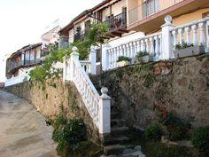 Un rincón típico de Valdastillas. Un pueblo serrano en el Valle del Jerte que bien merece una visita.