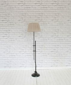 Antiqued Metal Floor Lamp – White Elephant Trading Company