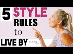 5 Style Rules to LIVE By! - YouTube