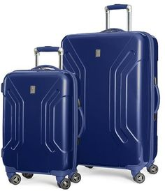 """Travelpro Inflight Lite Two Piece Hardside Set (20""""/28""""), Navy: Clothing"""