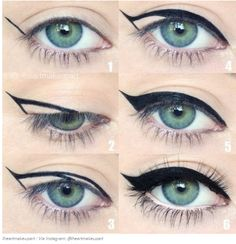 How to do a Winged eyeliner? #TuyaColourCosmetics #WingedEyeliner #MineralCosmetics