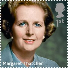 First Class Royal Mail Stamp featuring Margaret Thatcher. Part of the 'Influential Prime Ministers' Series,