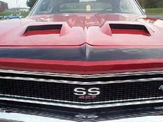 1968 Harell Chevelle SS 427 hood scoops