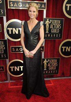 Las celebridades en la alfombra roja de los premios SAG
