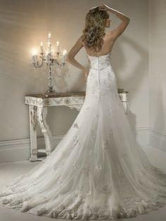 Maggie Sottero Designer wedding dresses and bridal gowns Wedding Dress Buttons, Wedding Dress Chiffon, Used Wedding Dresses, Tulle Wedding, Wedding Dress Styles, Mermaid Wedding, Dream Wedding, Ivory Wedding, Dress Lace