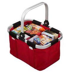 Kaufladenzubehör reisenthel Carry Bag Einkaufskorb gefüllt