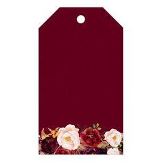Burgundy Marsala Floral Wedding Favor Thank You Gift Tags Diy Wedding Fans, Our Wedding Day, Wedding Cards, Wedding Themes, Wedding Reception, Wedding Favours Thank You, Vintage Wedding Favors, Best Wedding Favors, Wedding Invitation Background