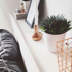 Image via We Heart It https://weheartit.com/entry/145398633/via/23103823 #art #cactus #gold #green #home #house #inspiration #white #classycgal