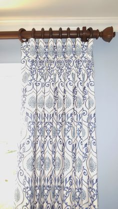 Goblet panels pleated to pattern.