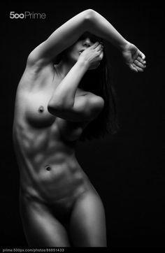 bodyscape - stock photo