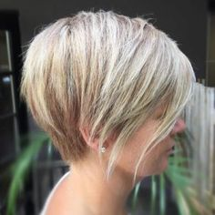 8 blonde balayage pixie bob