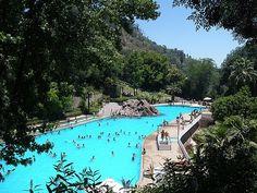 Public pool, Santiago, Chile.