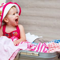 What you need to pack when vacationing with a baby or toddler