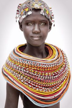 Faces of Kenya - The unmarried Samburu