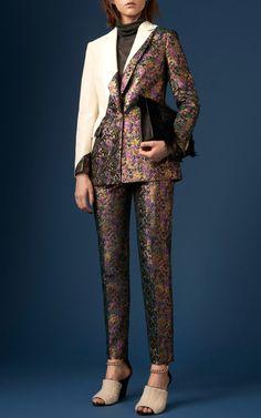 Patchwork Grunge Blazer by 3.1 Phillip Lim for Preorder on Moda Operandi