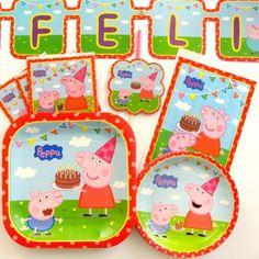 Paquete Peppa Pig - Artículos de Fiesta