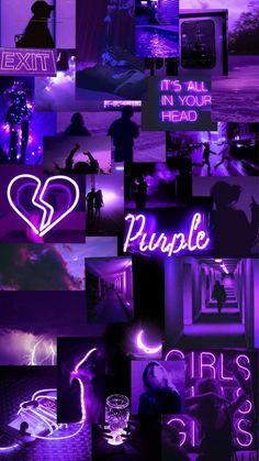 Wallpaper Pastel, Bad Girl Wallpaper, Purple Wallpaper Iphone, Cute Patterns Wallpaper, Iphone Background Wallpaper, Retro Wallpaper, Dark Wallpaper, Purple Backgrounds, Galaxy Wallpaper