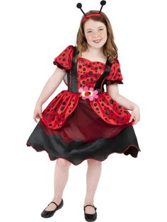 SALE! Kids Animal Ladybird Bug Girls Book Week Fancy Dress Costume Party Outfit | eBay