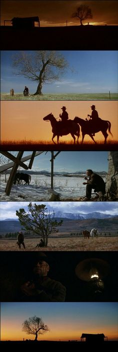 Stunning Landscape Photography in Unforgiven.(1992) Directed by Clint Eastwood. Cinematography by Jack N. Green.