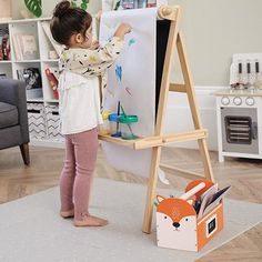 Kids' Toys   Children's Wooden Toys   Great Little Trading Co. All Toys, Kids Toys, Our Kids, Art For Kids, Kids Art Easel, Great Little Trading, Kids Playroom Furniture, Paper Roll Holders, Wooden Easel