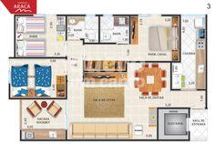 Residencial Araçá VALOR: R$ 390.000,00   ÁREA ÚTIL: 95,11m² BAIRRO: Vila Guilherme  CONTATOS:(16) 3706.0660 / (16) 98252.4864