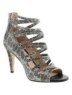 Preslie Caged Sandal---LOVE LOVE these shoes.  Can I get it in size 11 for my birthday?