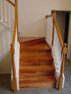 Best Brazilian Koa Stairs Custom Stairs Flooring Projects 400 x 300