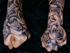 Beautiful black and grey roses by Tim Hendricks