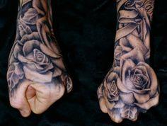 Beautiful black and grey roses by Tim Hendricks