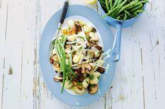 Gnocchi met champignons en kaas - Recept - Allerhande