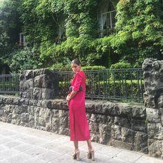 """966 Me gusta, 25 comentarios - Ines Martin Alcalde (@inesmartinalcalde) en Instagram: """"Ayer elegí el Dots dress de @collectioninesmartinalcalde este modelo está en varios estampados y…"""""""