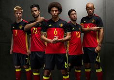 Belgium Euro 2016 Home Kit Released - Footy Headlines