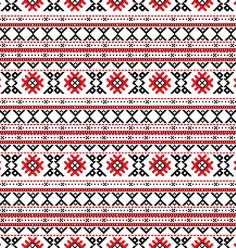 Traditional Russian embroidery pattern - embroidery or knitting perhaps