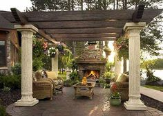 tuscan style outdoor living | Let our experts help you design your Outdoor GreatRoom. After all ...