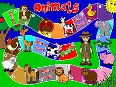 Animals - Board Game