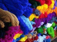 Yarn, Chichicastenango Market, Guatemala