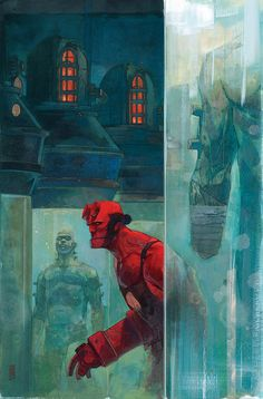 Hellboy and the B.P.R.D.: 1952 #4 (of 5) - Alex Maleev
