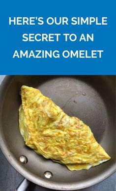 There's no such thing as a perfect omelet. But there is such a thing as an easy, fluffy, and flavorful omelet—every time. Breakfast Slider, Breakfast Buffet, Breakfast Recipes, Savoury Recipes, Keto Recipes, Cartoon Recipe, Easy Omelet, Cooking Tips, Cooking Recipes