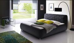 California King Bed AnconaCollection Ancona-CK(California King Bed)FabricFinish:CharcoalDimension:California King Bed:85 x 93 x 40