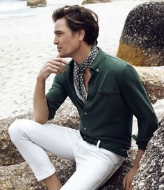 """gmenweardaily:  """"Ramsey SS14  GWD  Gentlemen's  Wear  Daily  Your daily inspiration reference for mens style and elegance  """""""