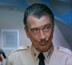 Walter Pidgeon as the Admiral in Voyage to the Bottom of the Sea  http://family-friendly-movies.com/drama/voyage-to-the-bottom-of-the-sea/