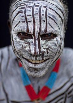 Karo tribe warrior - Omo Valley Ethiopia