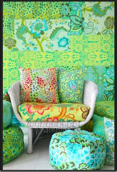 Amy Butler design's in color..