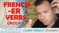 French ER Verbs - Regular French Verbs (Les Verbes du 1er Groupe) + FUN! (Learn French Verbs/Verbes Français). VIDEO+TRANSCRIPT here: https://www.francaisimmersion.com/french-er-verbs-regular/