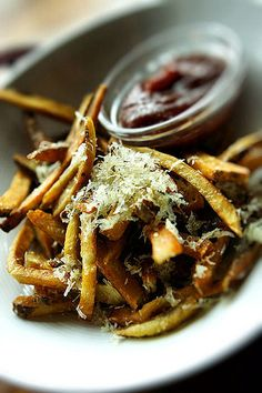 Pommes Frites at that will keep you coming back to this in Bon Appetit, Lazy, Goats, Foodies, Drinking, Food And Drink, Veggies, Wanderlust, Restaurant