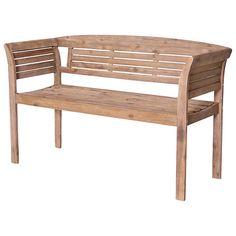 LG Outdoor Hanoi 2-Seater Bistro Bench, FSC-certified (Acacia) at John Lewis