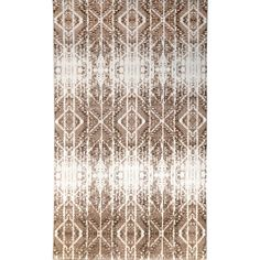 Muscato Tufted Brown/White Rug