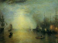 William Turner Keelmen Heaving in Coals by Moonlight 1835